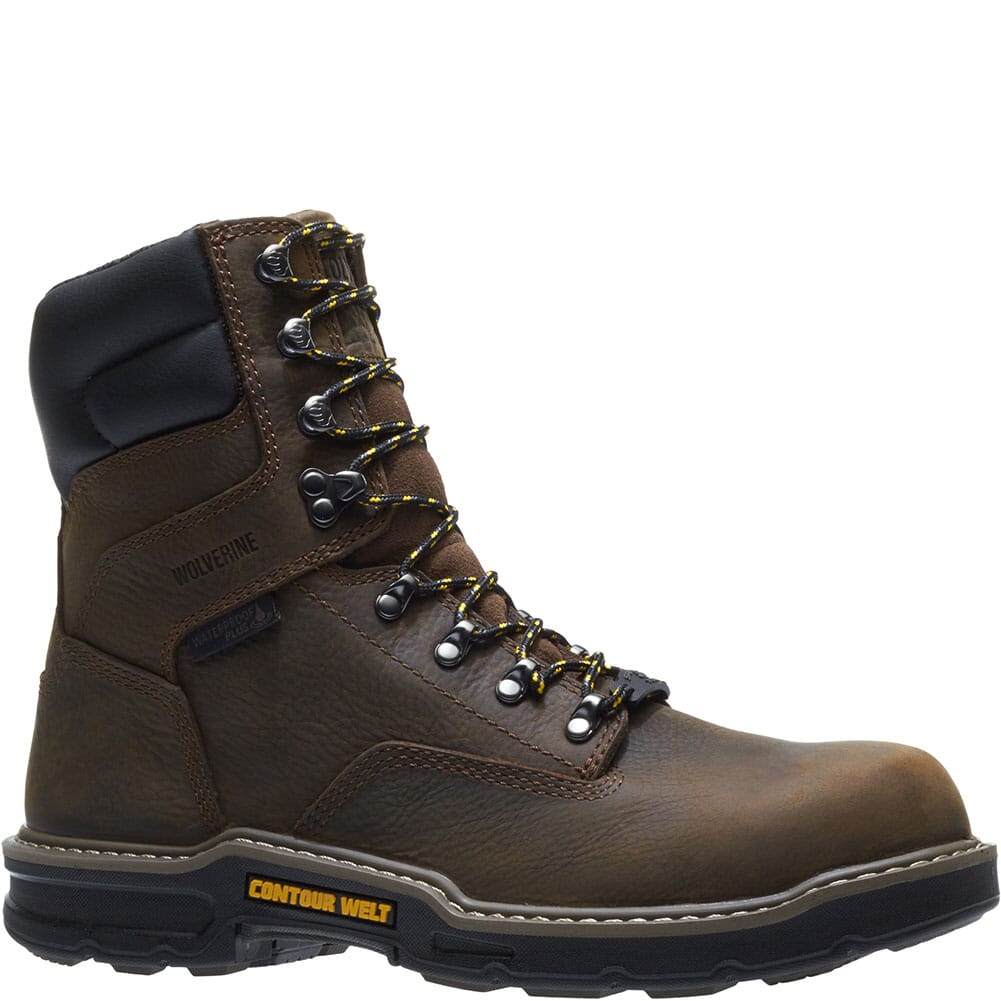 Image for Wolverine Men's Bandit WP Safety Boots - Brown from bootbay