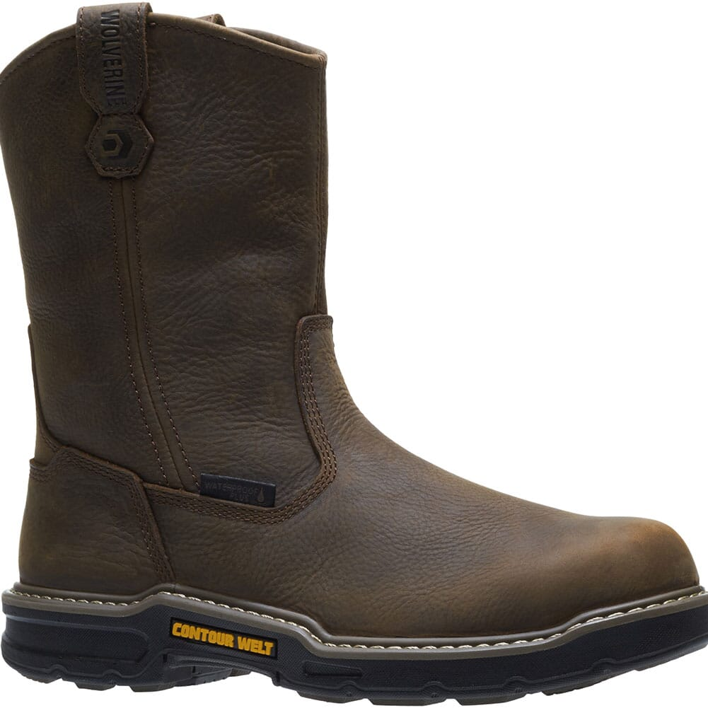 Image for Wolverine Men's Bandit WP Pullon Safety Boots - Brown from bootbay