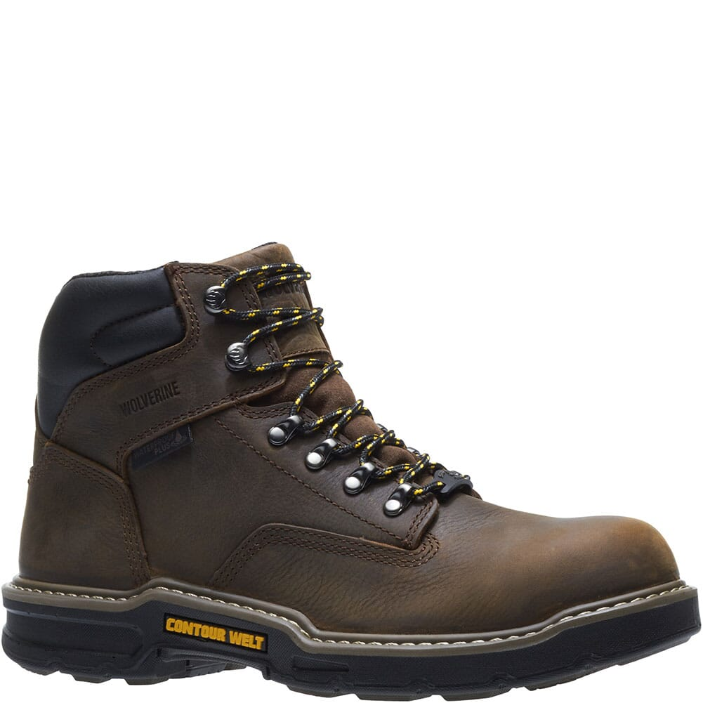 Image for Wolverine Men's Bandit Safety Boots - Brown from bootbay