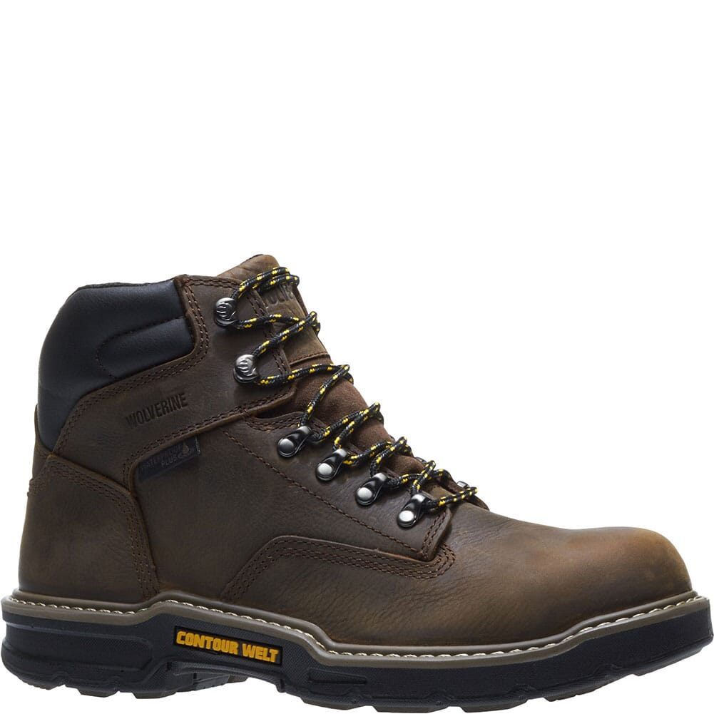 Image for Wolverine Men's Bandit 6in WP Work Boots - Brown from bootbay