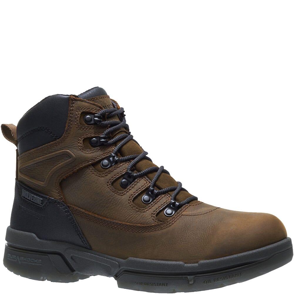 Image for Wolverine Men's I-90 Durashocks Work Boots - Dark Coffee from bootbay