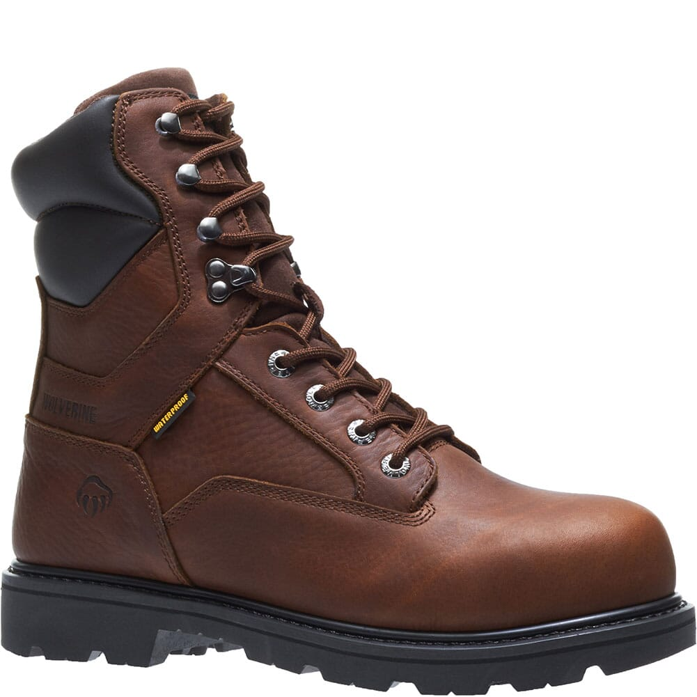 Image for Wolverine Men's Farmhand WP Work Boots - Rust from bootbay