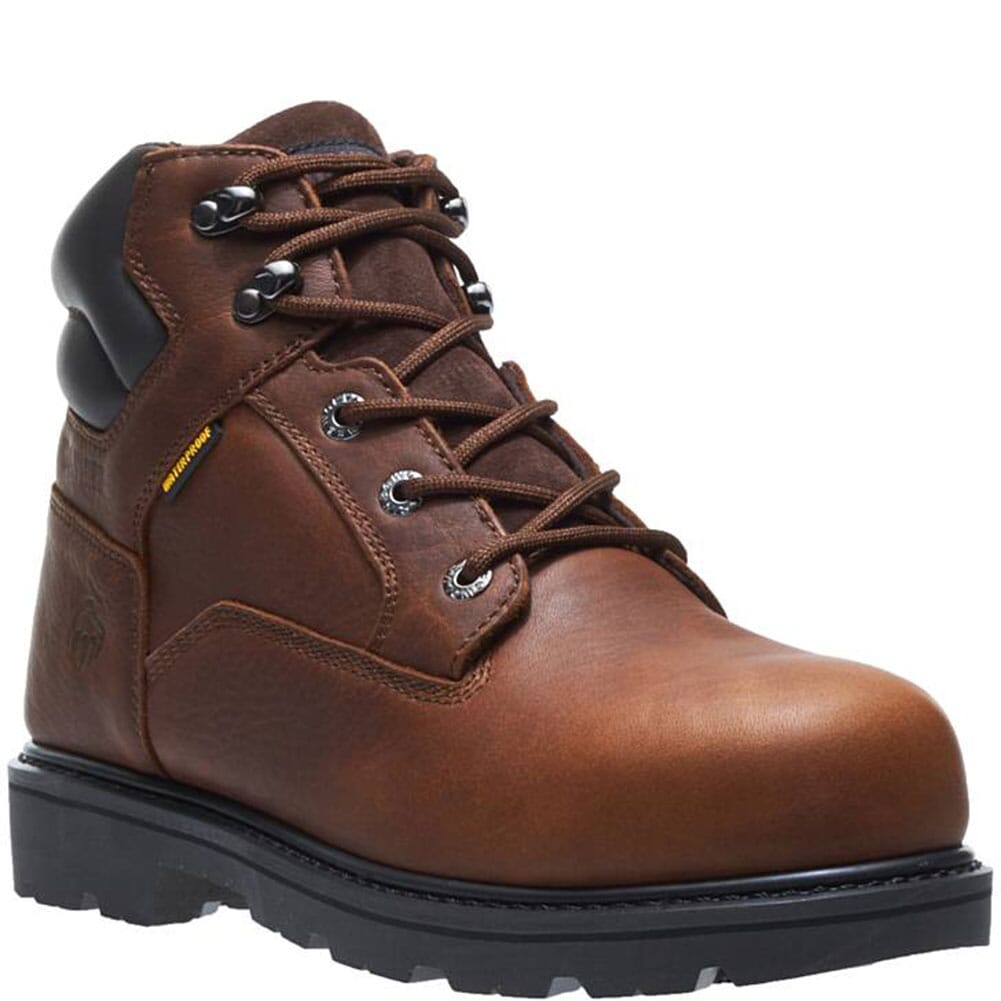 Image for Wolverine Men's' Farmhand WP Safety Boots - Rust from bootbay