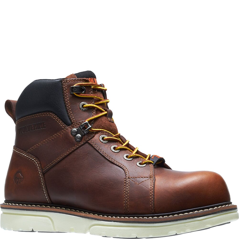 Image for Wolverine Men's I-90 Durashocks Work Boots - Brown from bootbay