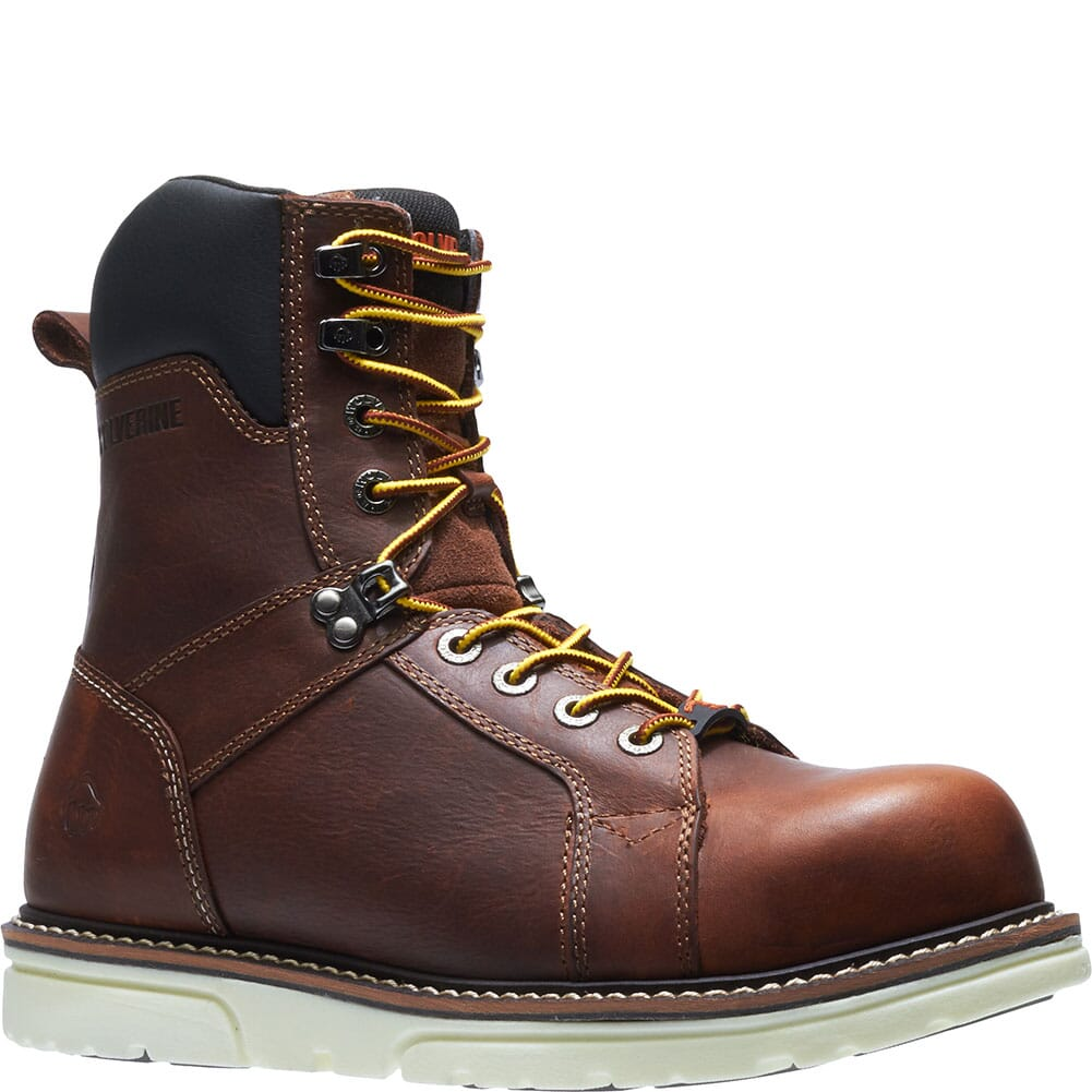Image for Wolverine Men's I-90 Durashocks Safety Boots - Brown from bootbay