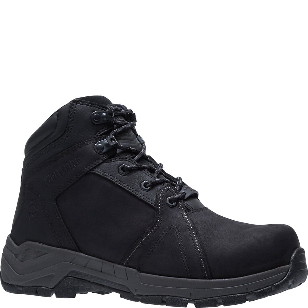 Image for Wolverine Men's Contractor LX EPX Safety Boots - Black from bootbay