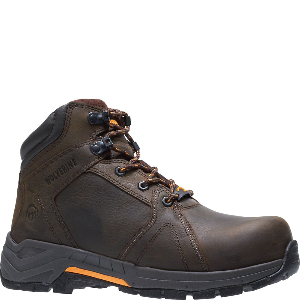 Image for Wolverine Men's Contractor LX EPX Safety Boots - Brown from bootbay