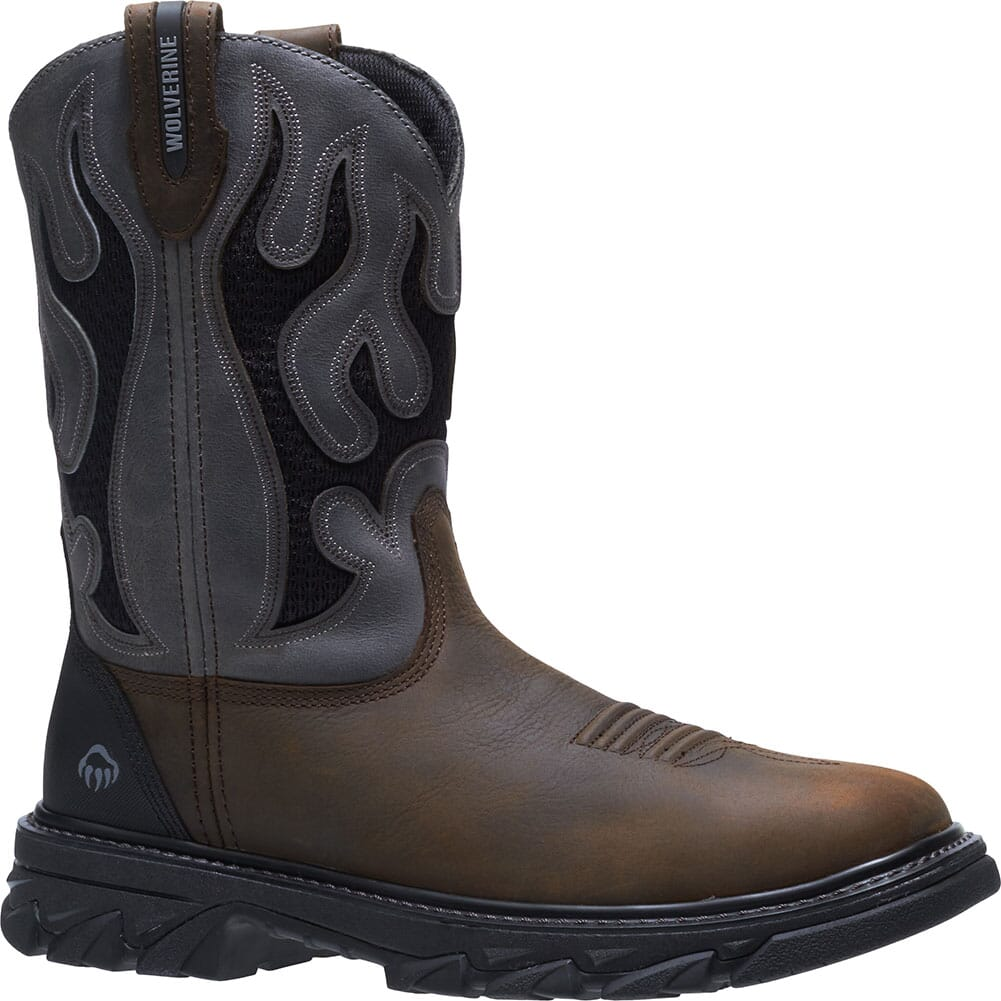 Image for Wolverine Men's Ranch King Safety Boots - Grey from bootbay