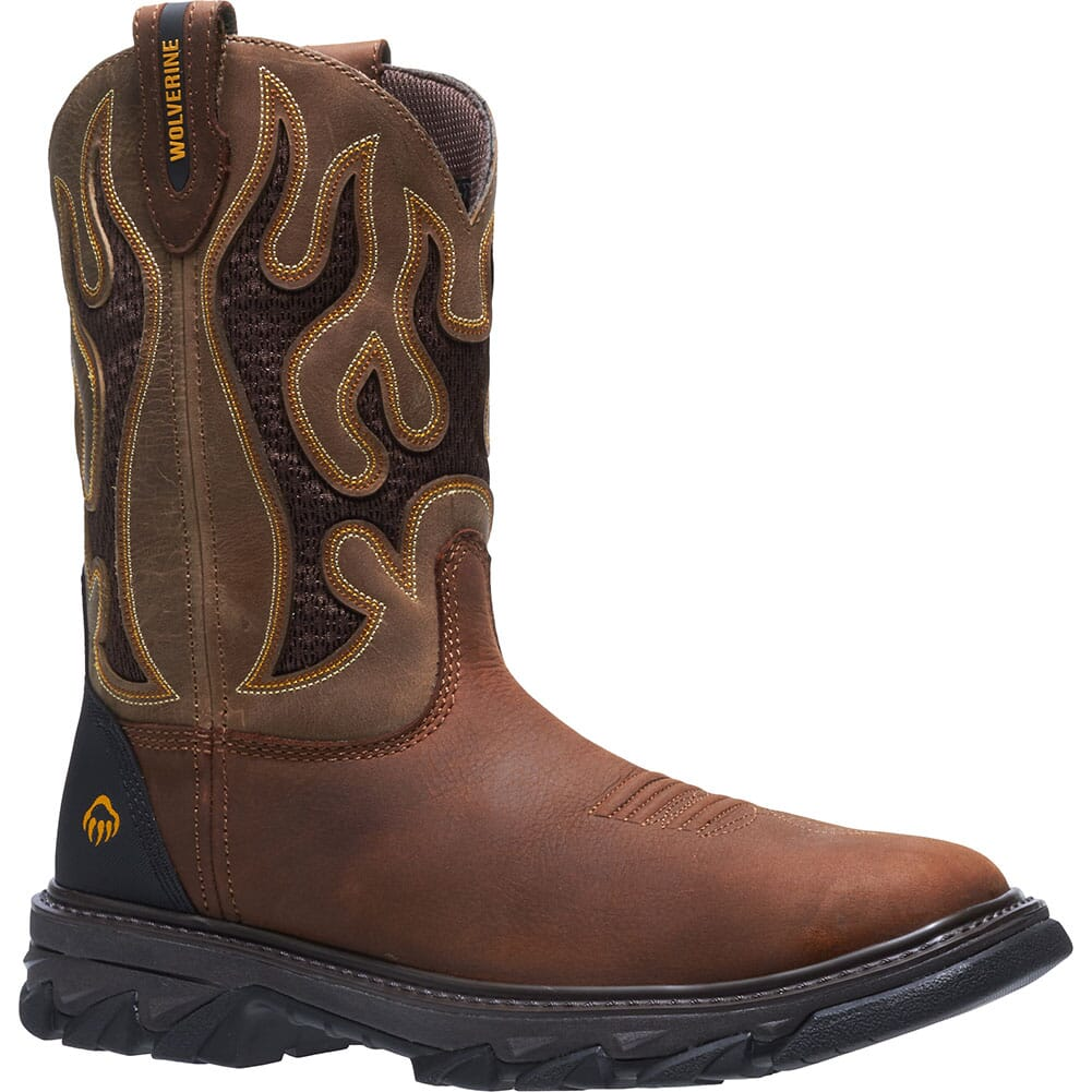 Image for Wolverine Men's Ranch King Safety Boots - Tan from bootbay