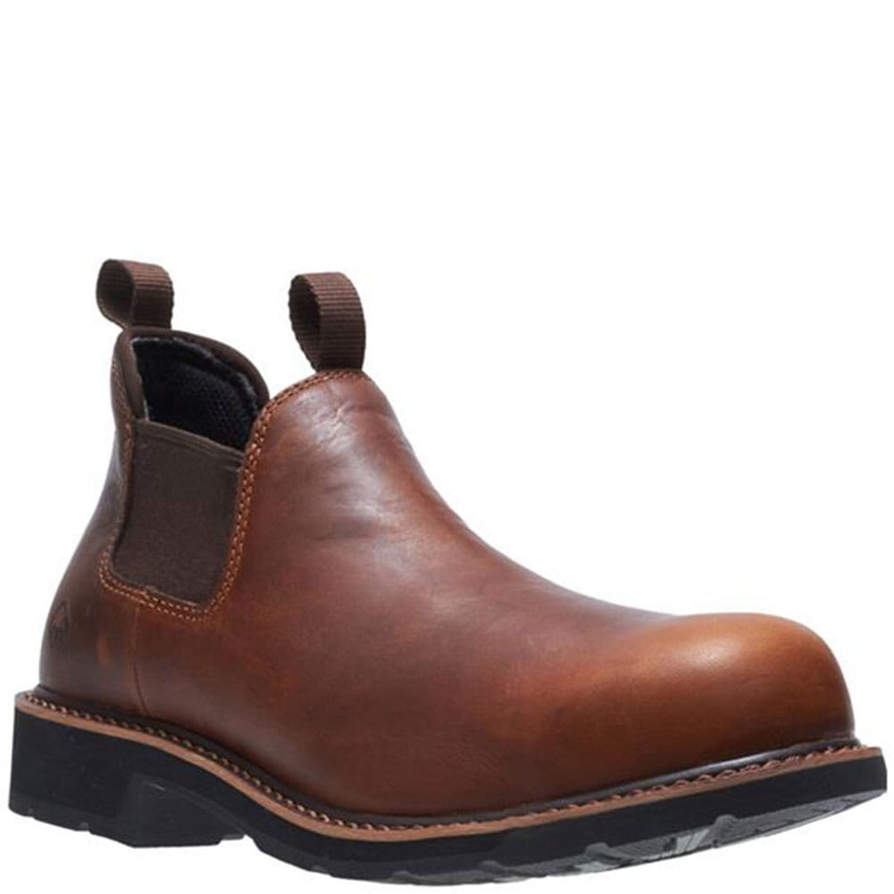 Image for Wolverine Men's Ranchero Romeo Work Boots - Brown from bootbay