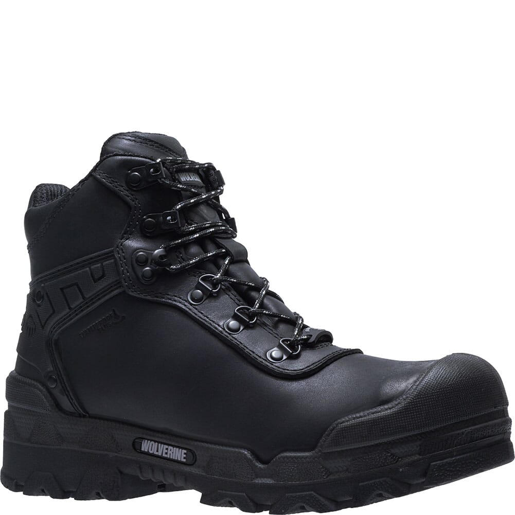 Image for Wolverine Men's Warriors Safety Boots - Black from bootbay