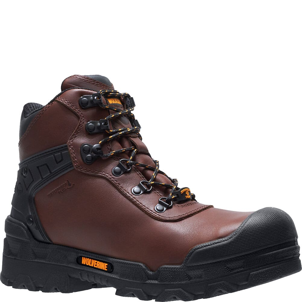 Image for Wolverine Men's Warriors Safety Boots - Brown from bootbay