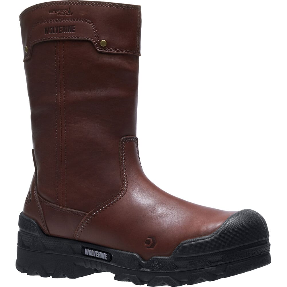 Image for Wolverine Men's Warriors WP Safety Boots - Brown from bootbay