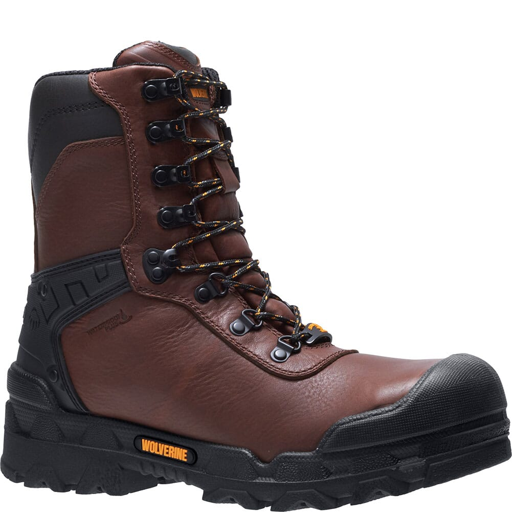 Image for Wolverine Men's Warrior Safety Boots - Brown from bootbay