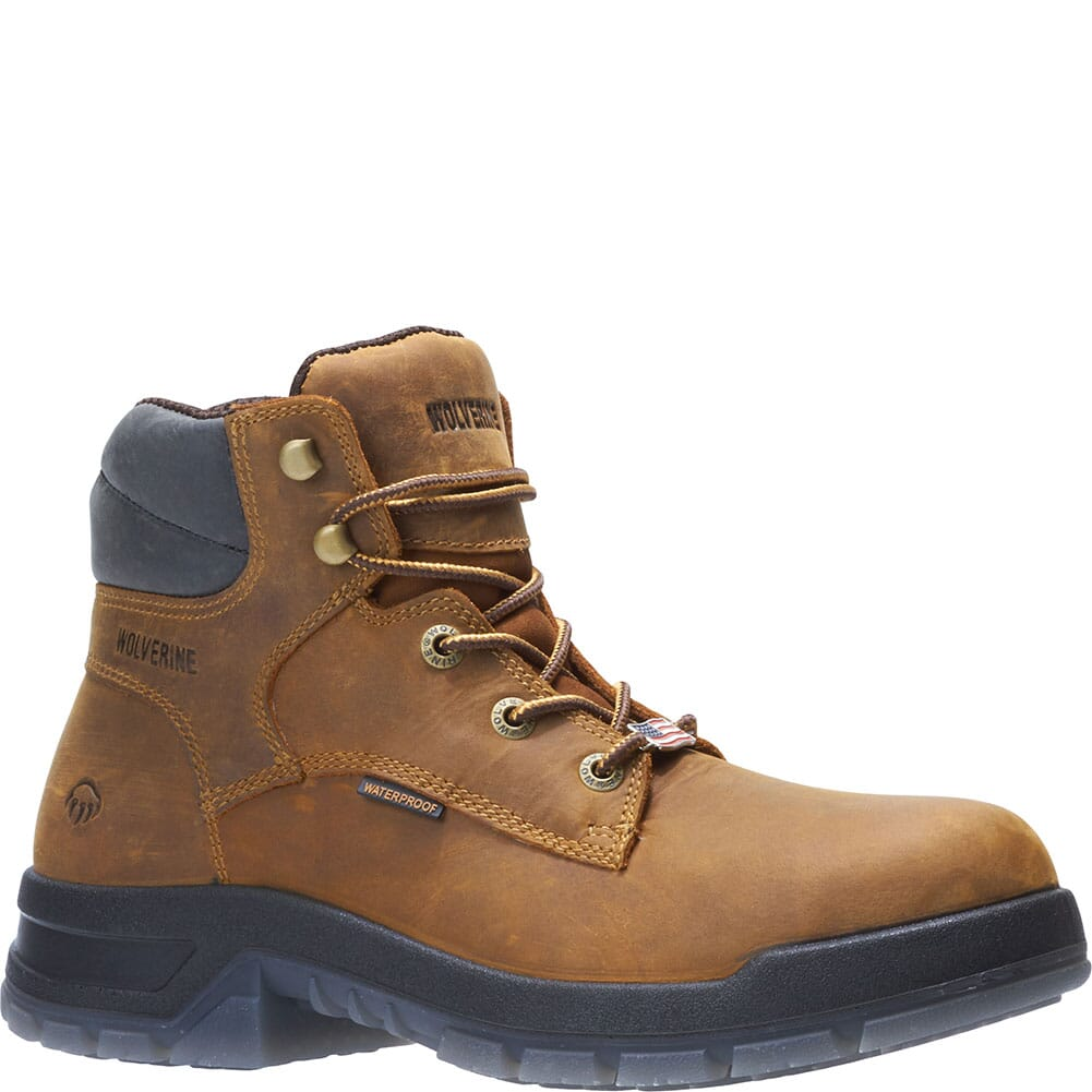 Image for Wolverine Men's Ramparts 6IN Work Boots - Brown from bootbay