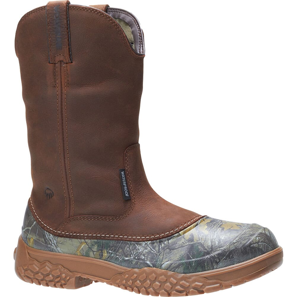 Image for Wolverine Men's Yak Wellington HuntingBoots - Camo/Brown from bootbay