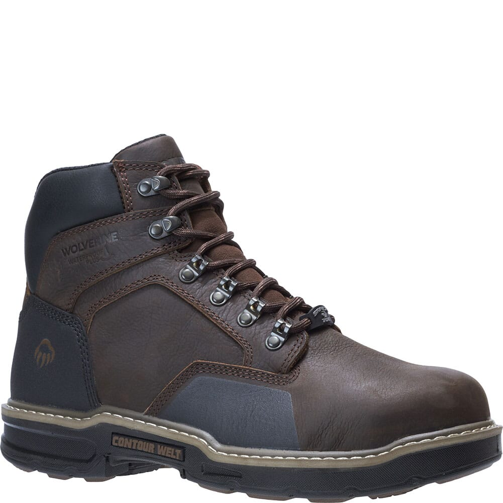 Image for Wolverine Men's Bandit 6IN Safety Boots - Dark Brown from bootbay