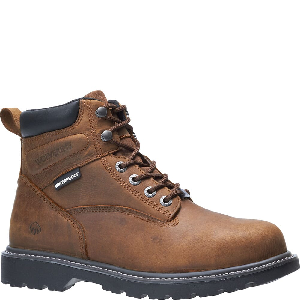 Image for Wolverine Men's Floorhand PR Safety Boots - Summer Brown from bootbay