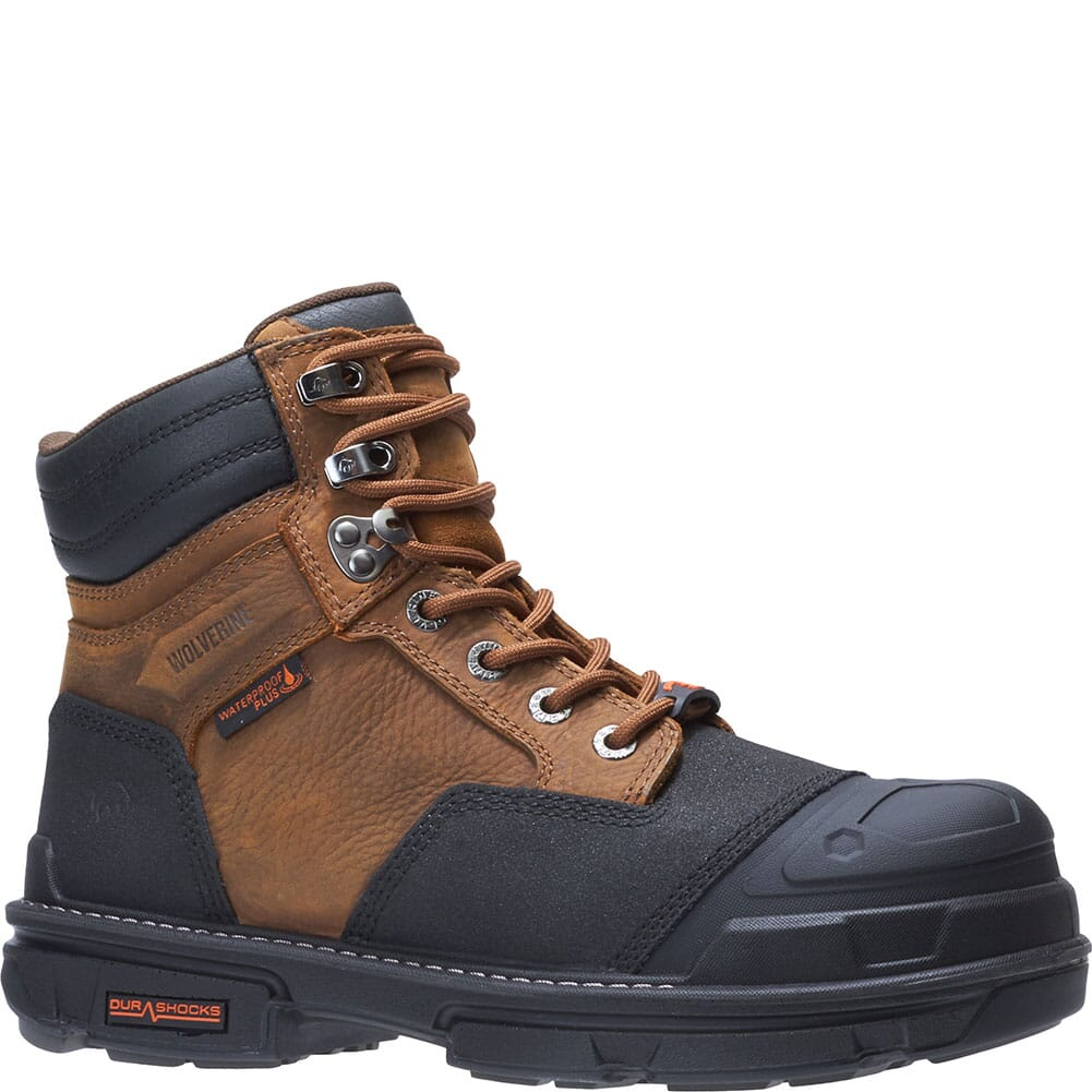 Image for Wolverine Men's Yukon Carbonmax 6IN Safety Boots - Brown from bootbay