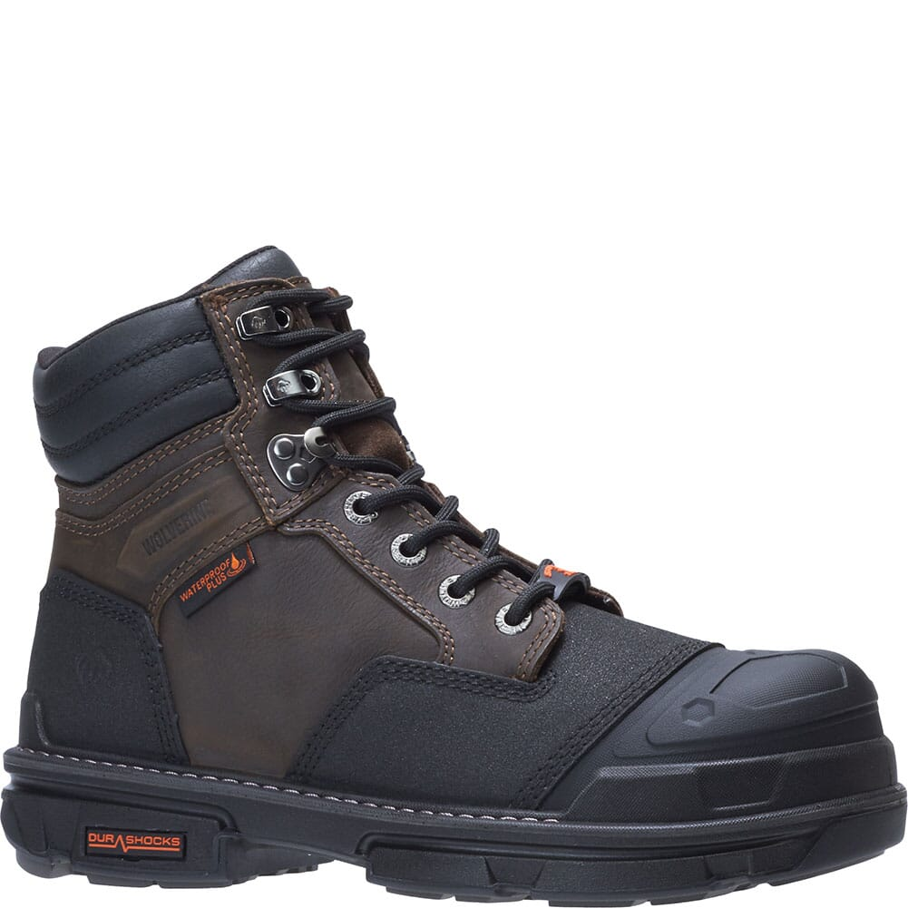 Image for Wolverine Men's Yukon WP Safety Boots - Coffee Bean from bootbay