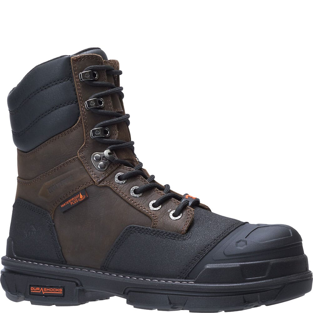 Image for Wolverine Men's Yukon Carbonmax 8IN Safety Boots - Brown from bootbay