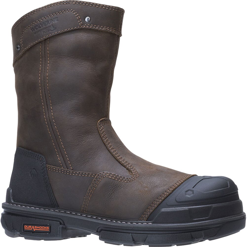 Image for Wolverine Men's Yukon Safety Boots - Coffee Bean from bootbay