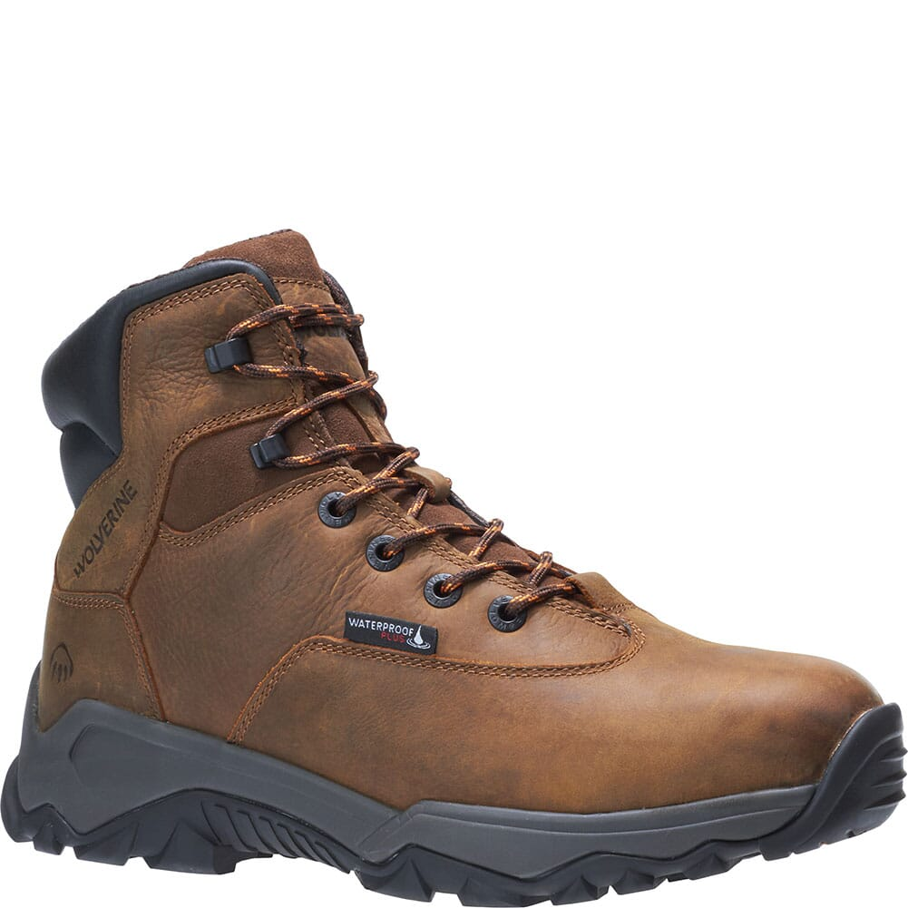 Image for Wolverine Men's Glacier II 6IN Safety Boots - Brown from bootbay