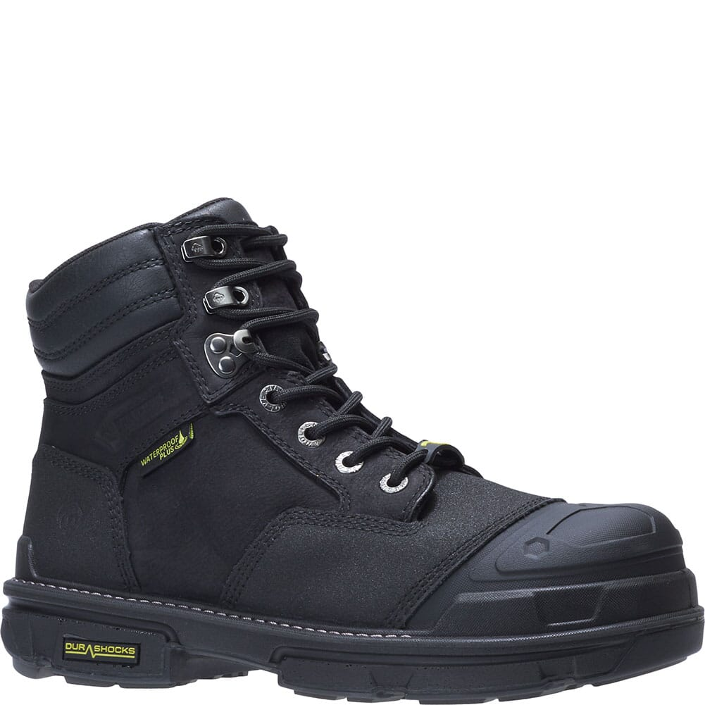 Image for Wolverine Men's Yukon Carbonmax Safety Boots - Black from bootbay