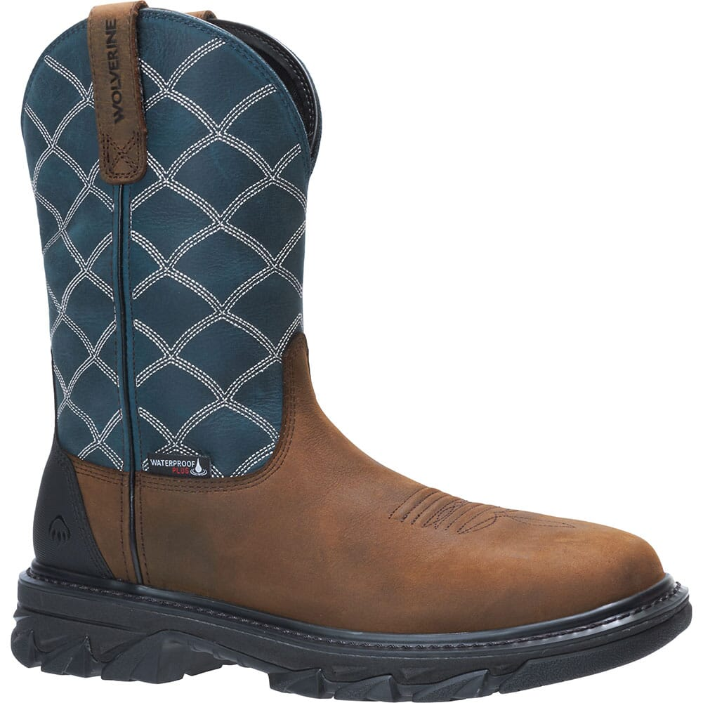 Image for Wolverine Men's Ranch King EPX Safety Boots - Blue from bootbay