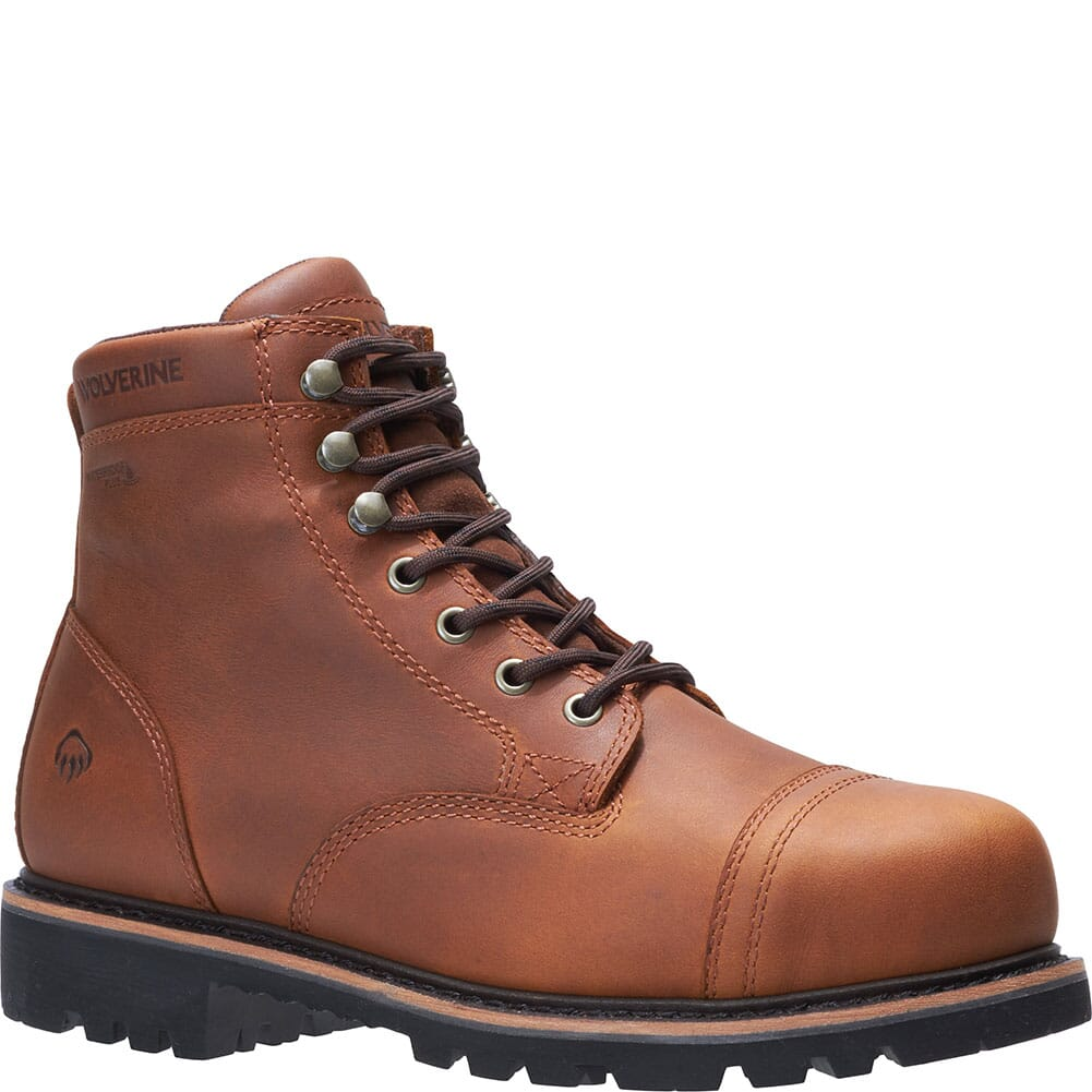 Image for Wolverine Men's Journeyman Safety Boots - Brown from bootbay