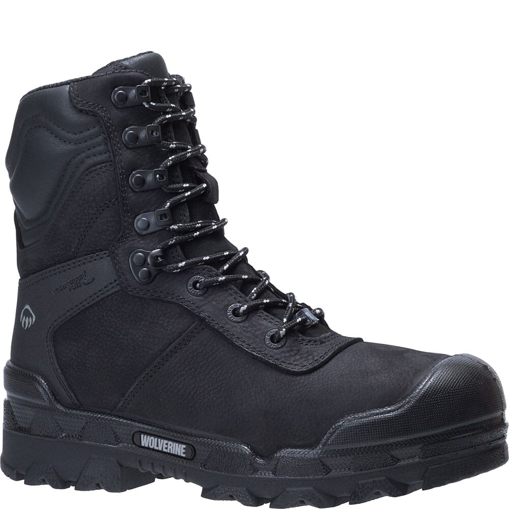 Image for Wolverine Men's Warrior Safety Boots - Black from bootbay