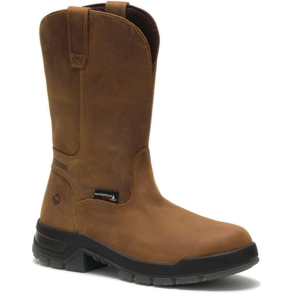 Image for Wolverine Men's Ramparts Safety Boots - Tan from bootbay
