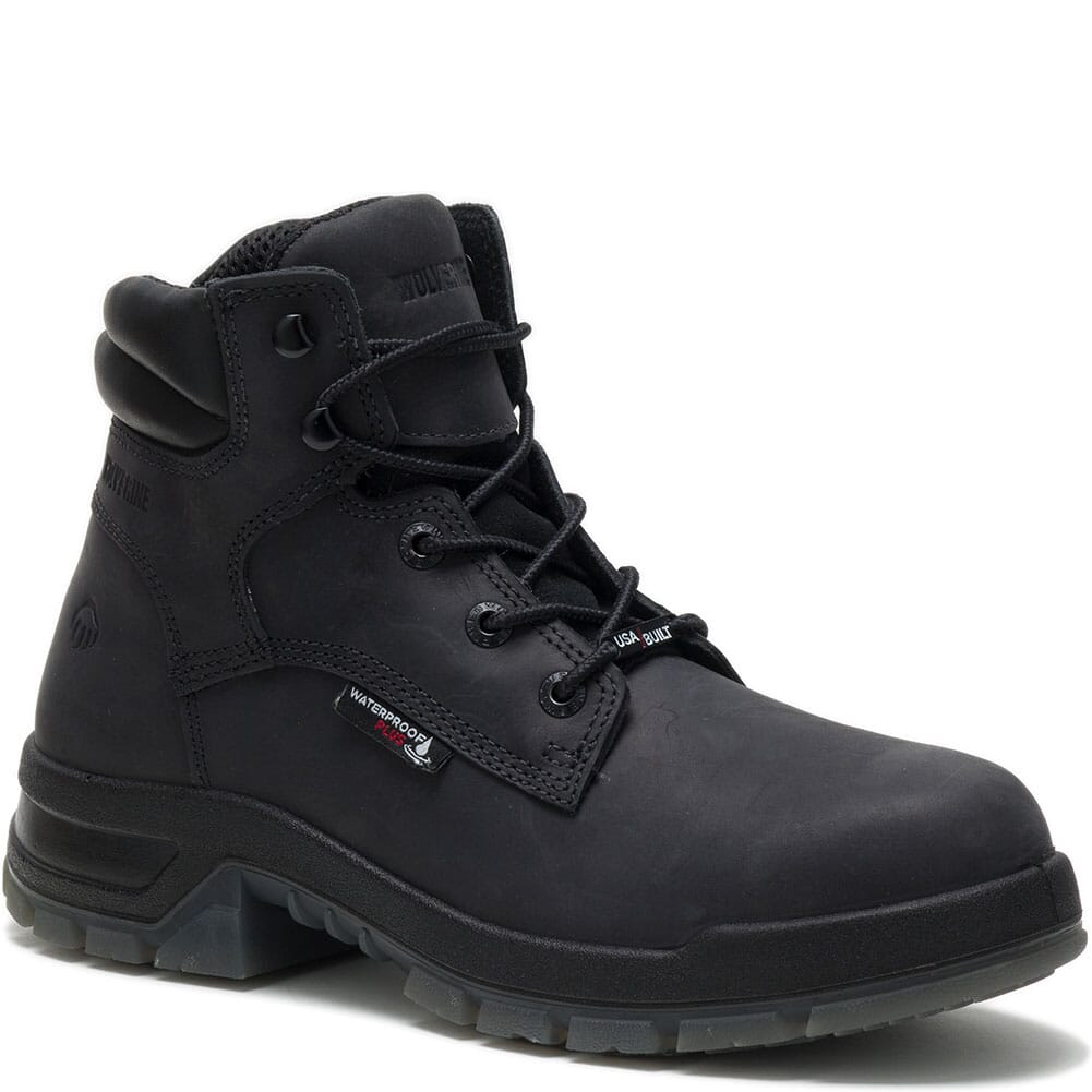 Image for Wolverine Men's Ramparts Safety Boots - Black from bootbay
