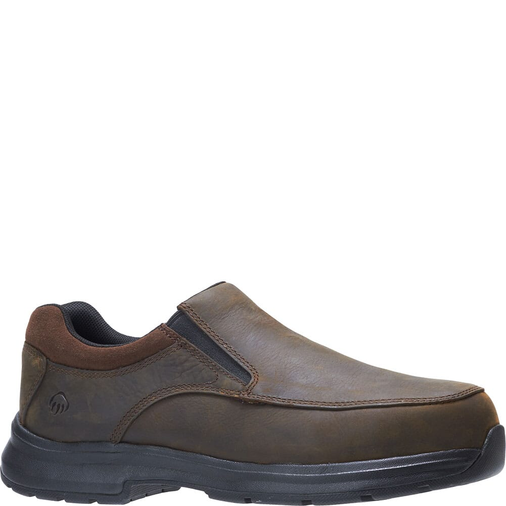 Image for Wolverine Men's Logan Safety Shoes - Brown from bootbay