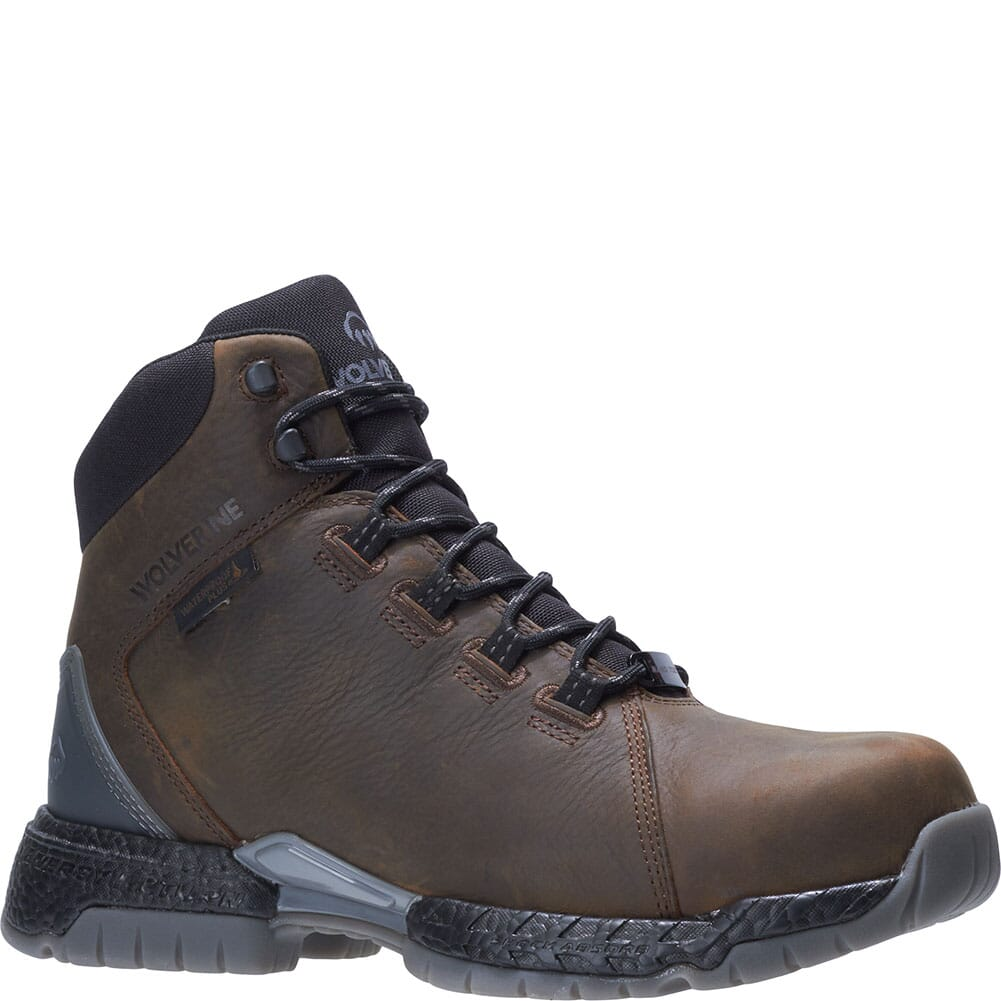 Image for Wolverine Men's I-90 Rush 6IN Safety Boots - Brown from bootbay