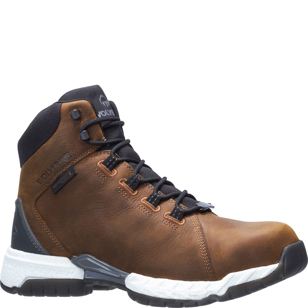 Image for Wolverine Men's I-90 Rush 6IN Safety Boots - Cafe from bootbay