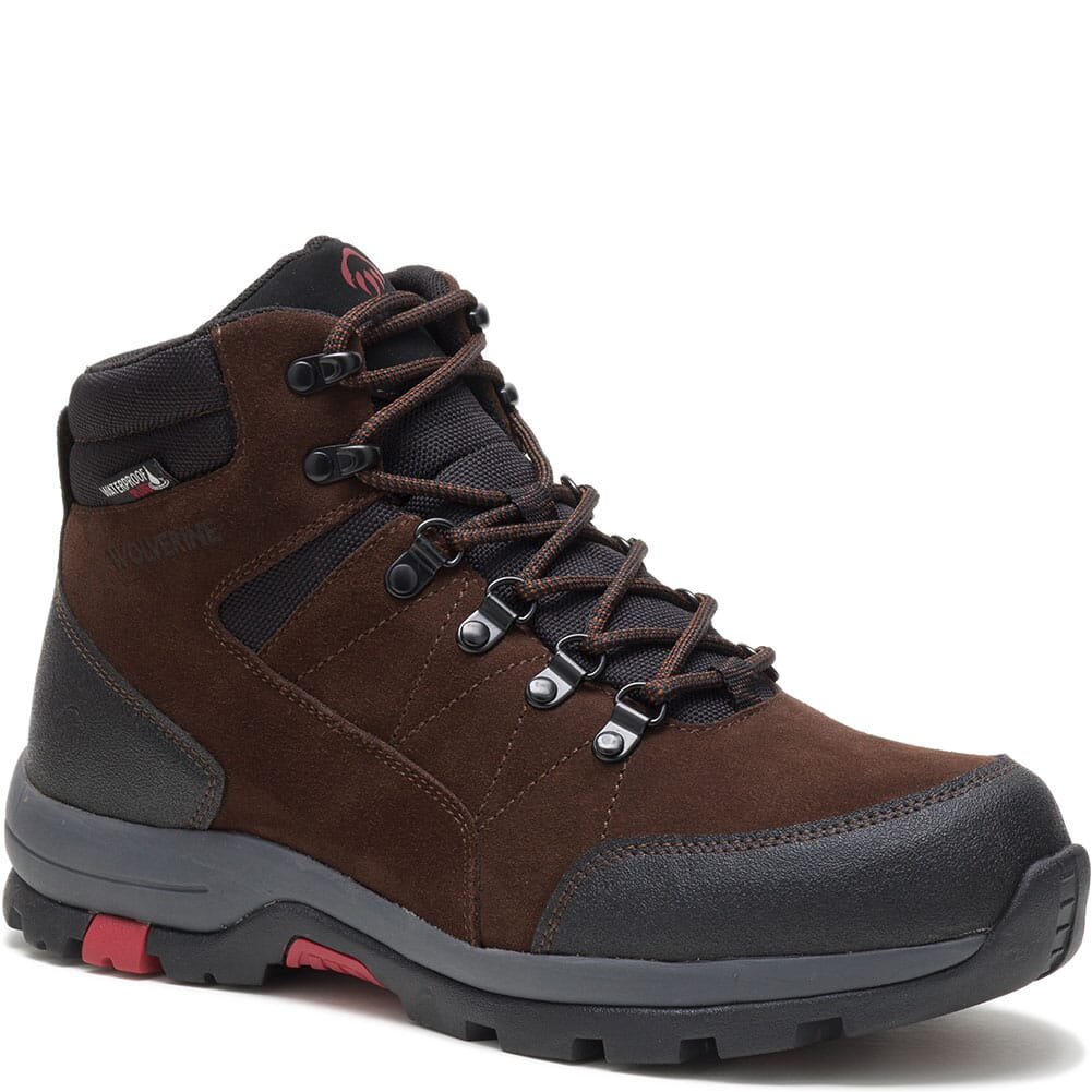 Image for Wolverine Men's Rapid Hiking Boots - Brown from bootbay