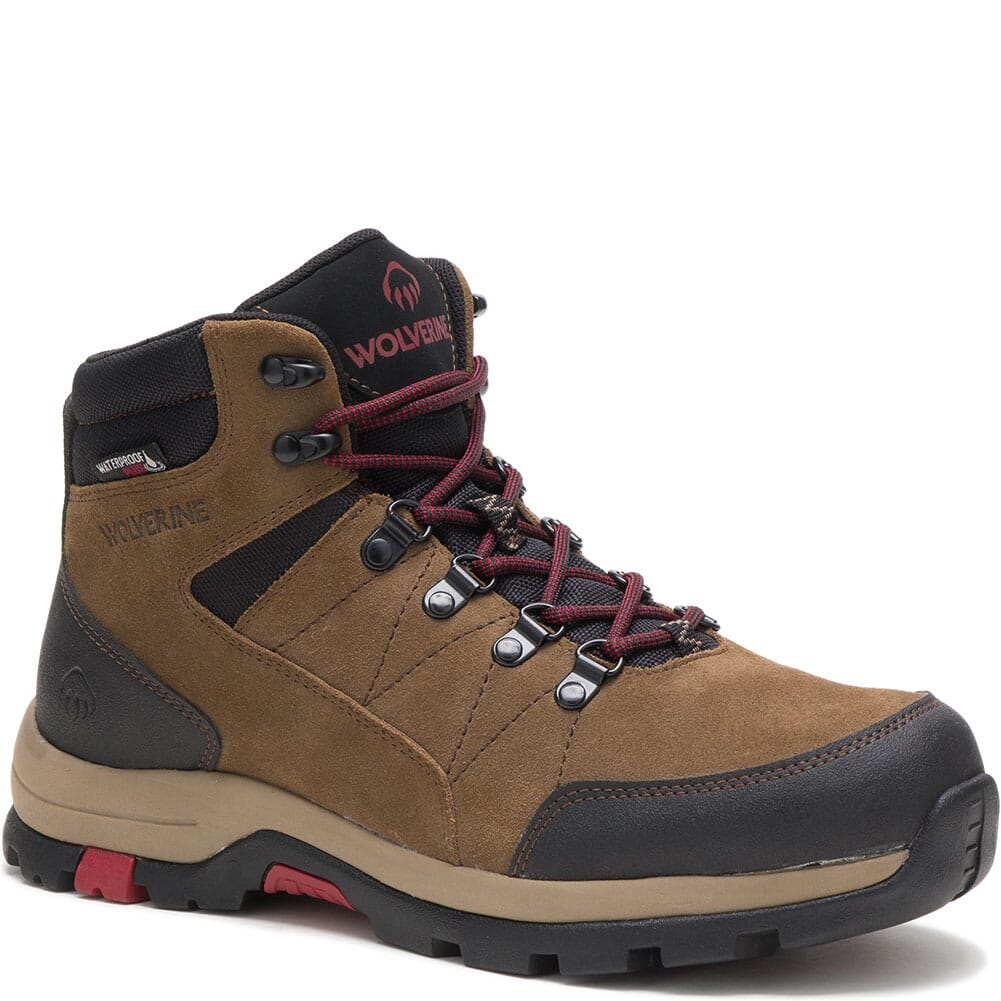Image for Wolverine Men's Rapid Hiking Boots - Sand from bootbay