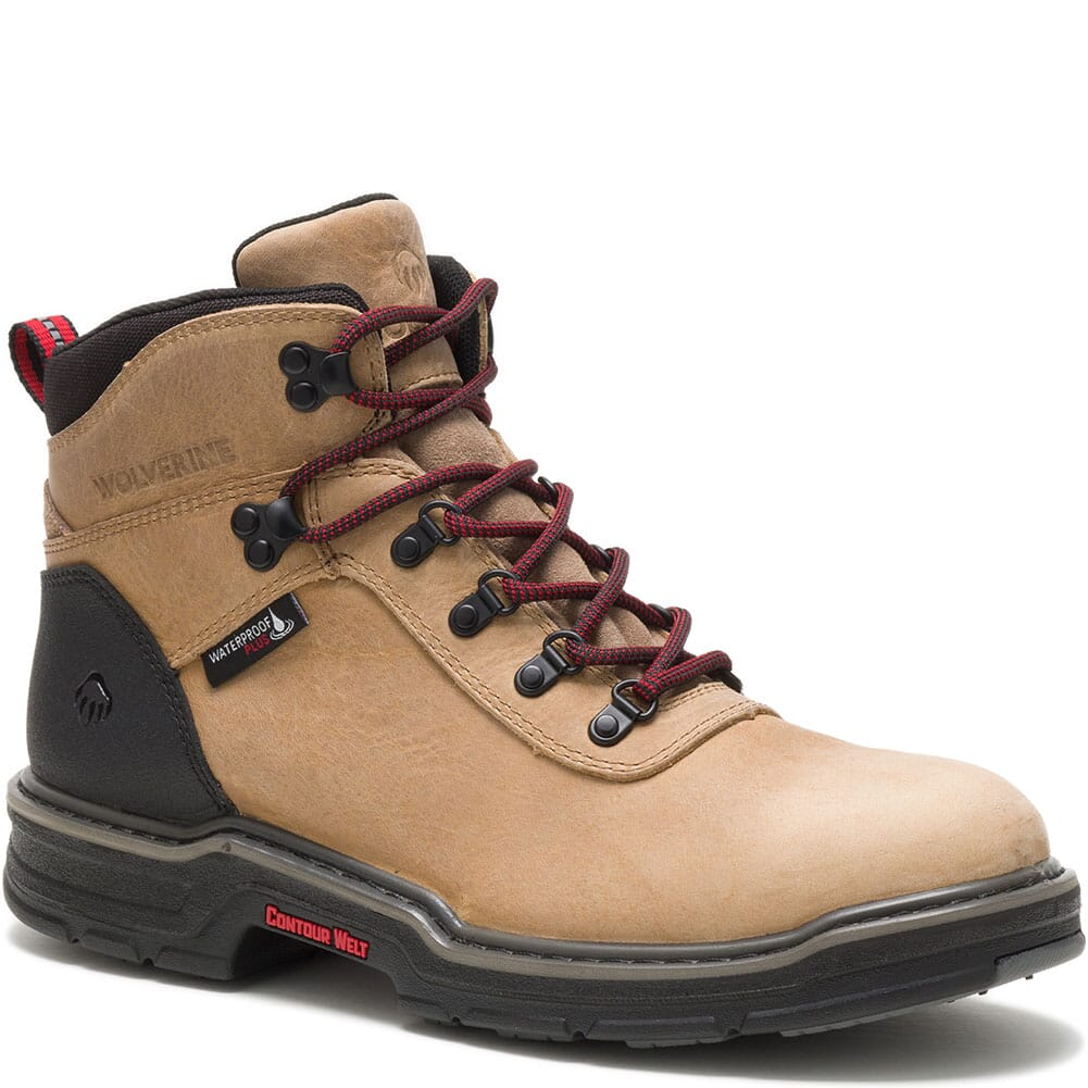 Image for Wolverine Men's Trail Flex Hiking Boots - Sawdust from bootbay
