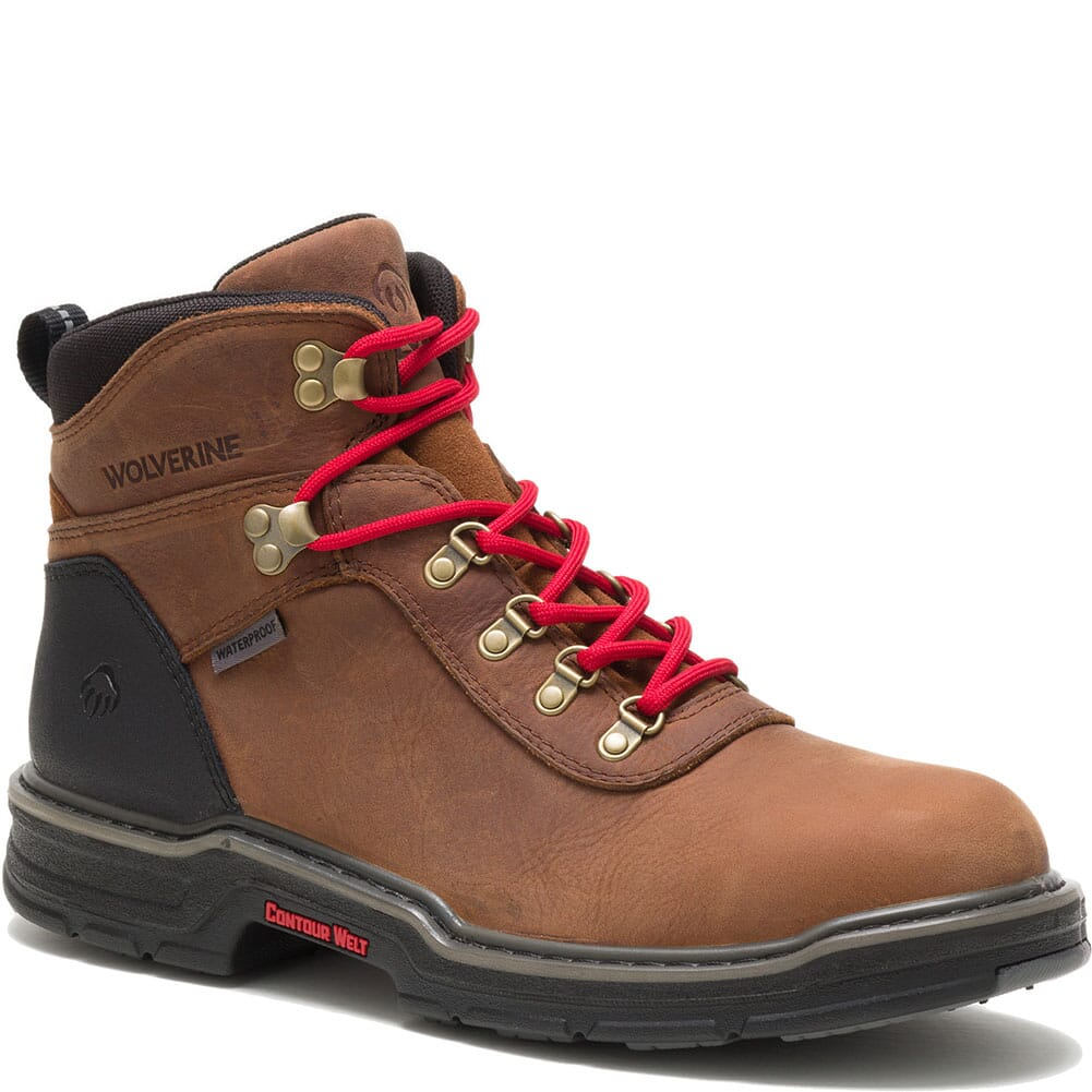 Image for Wolverine Men's Trail Flex Hiking Boots - Dark Brown from bootbay