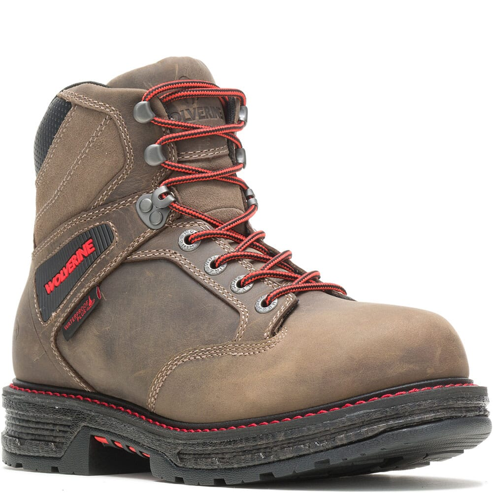 Image for Wolverine Men's Hellcat Ultraspring Work Boots - Gravel from bootbay