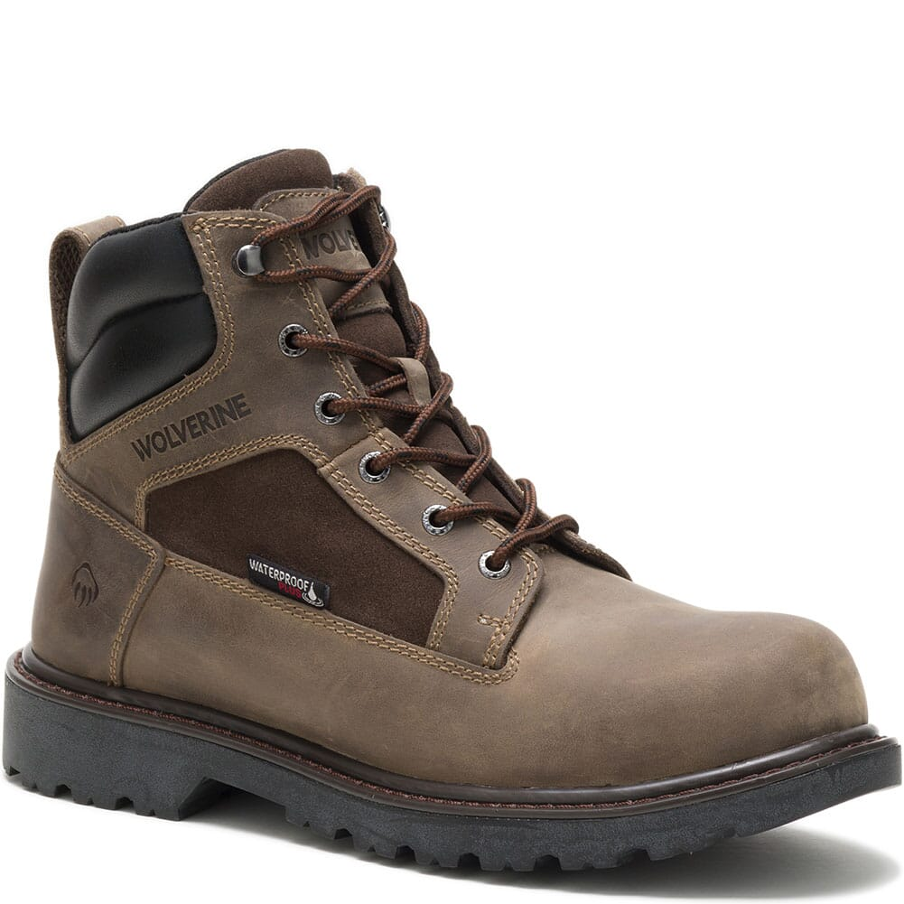 Image for Wolverine Men's Roughneck Safety Boots - Fossil from bootbay