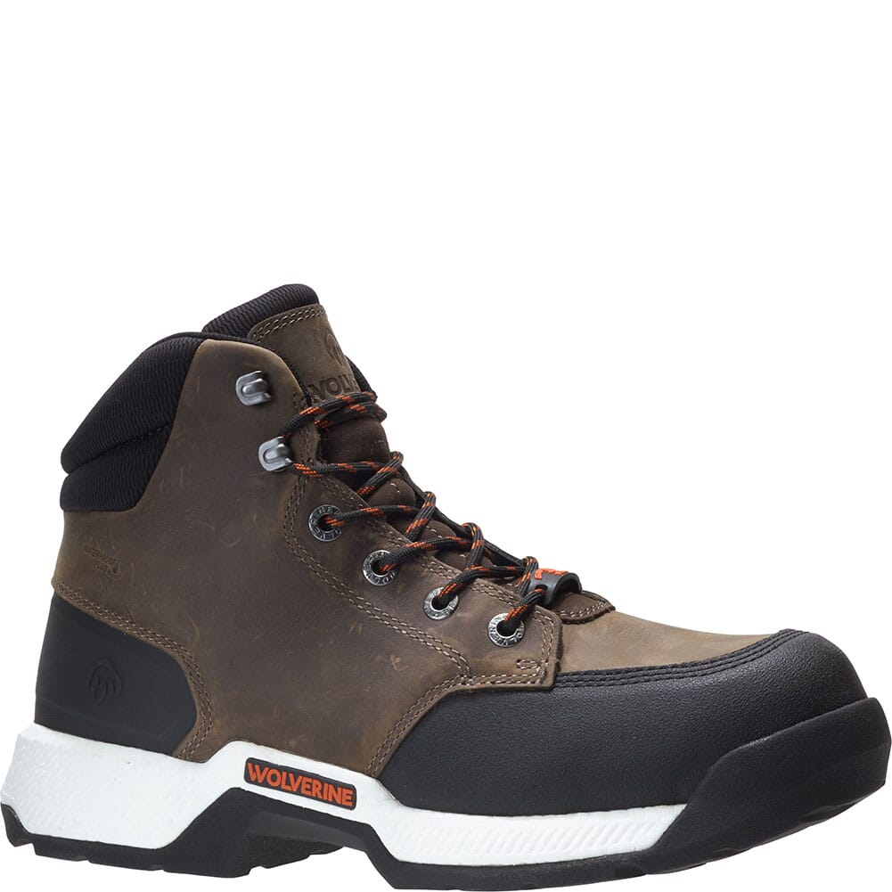 Image for Wolverine Men's Carom 5IN Safety Boots - Fossil from bootbay