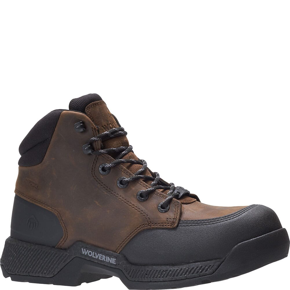 Image for Wolverine Men's Carom 5IN Safety Boots - Gaucho from bootbay