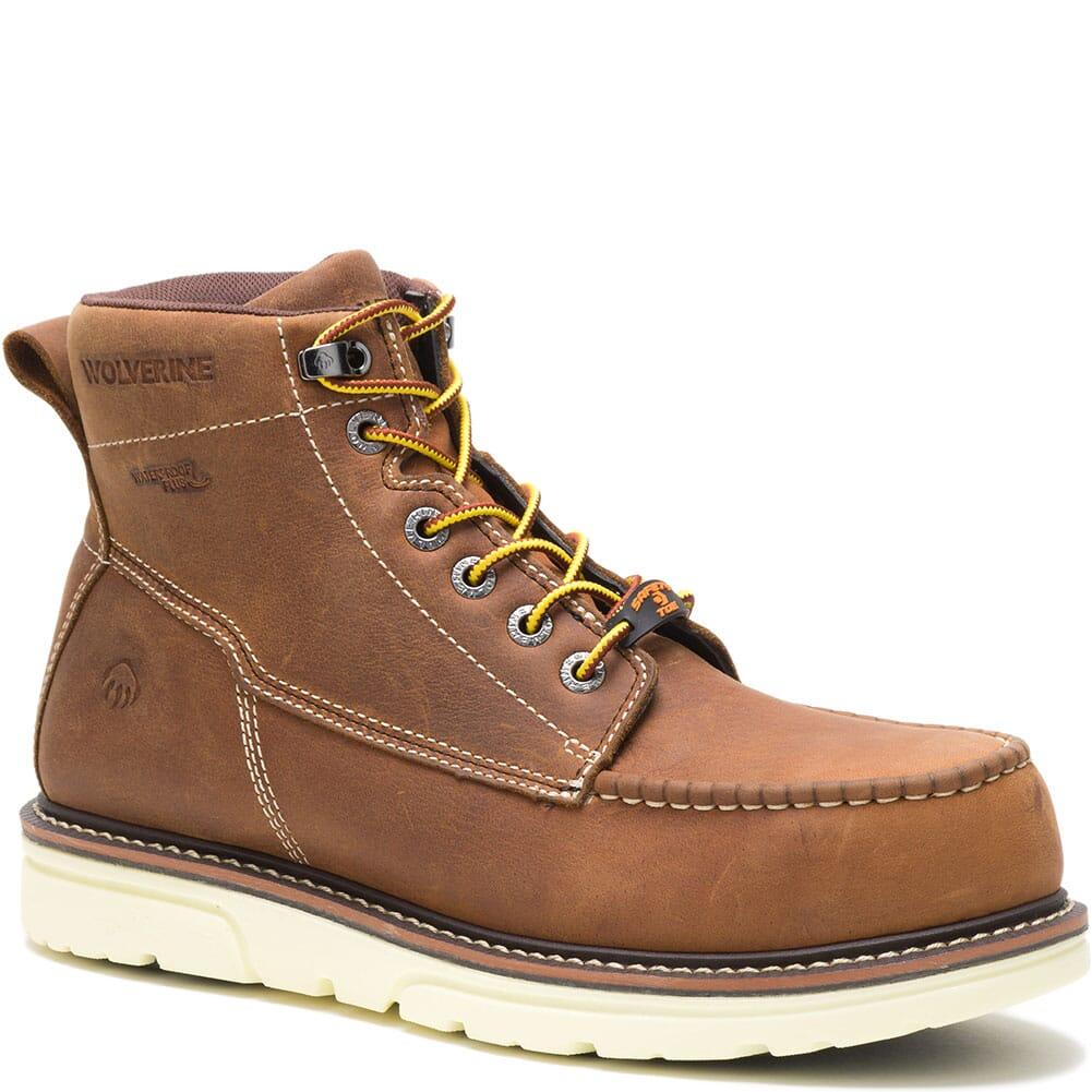 Image for Wolverine Men's I-90 Durashocks 6IN Safety Boots - Tan from bootbay