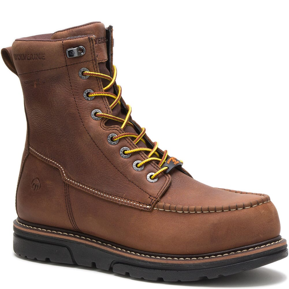 Image for Wolverine Men's I-90 Durashocks 8IN Safety Boots - Brown from bootbay