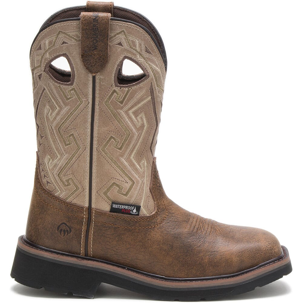 Image for Wolverine Women's Rancher Aztec Safety Boots - Bone from elliottsboots
