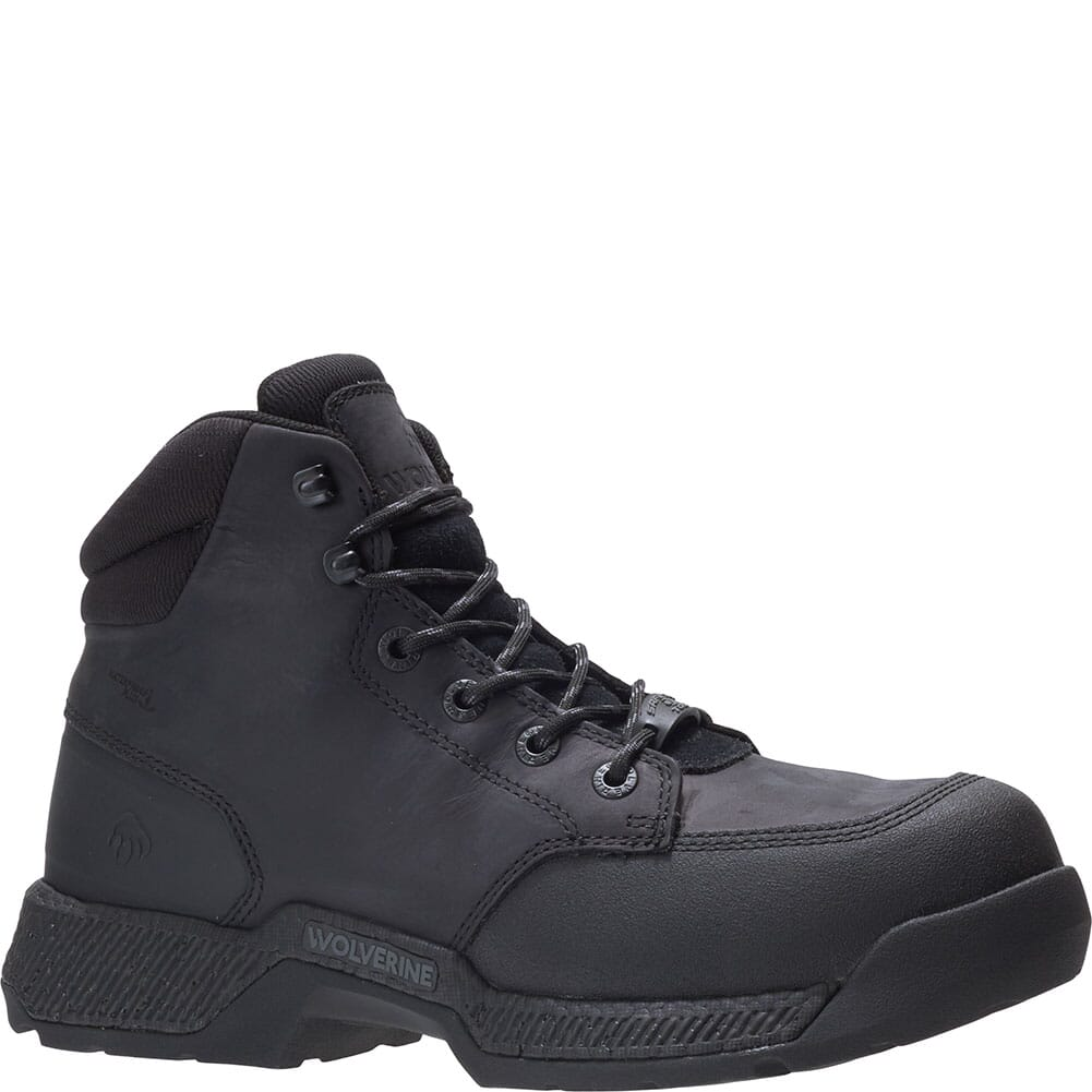 Image for Wolverine Men's Carom 5IN Safety Boots - Black from bootbay