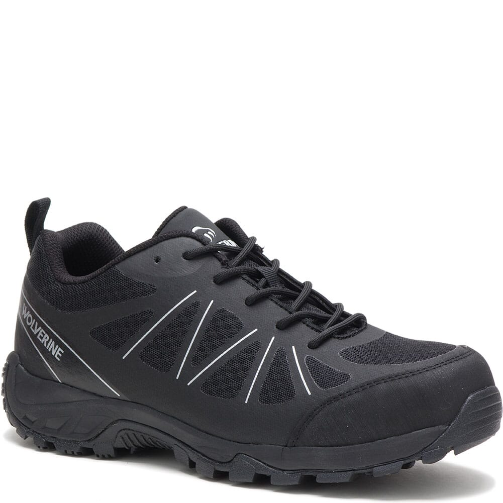 Image for Wolverine Men's Amherst II Safety Shoes - Black from bootbay