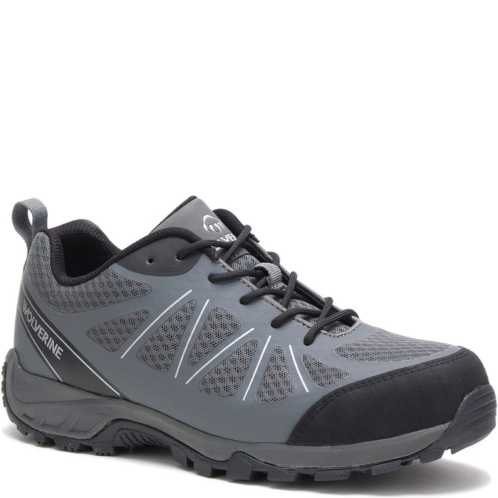 Image for Wolverine Men's Amherst II Safety Shoes - Grey from bootbay